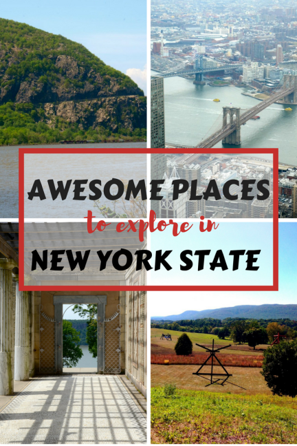 People often associate the state of New York with New York City, but it is a big state! Think mountains, lakes, river life, country towns and farm land in addition to big city culture. Our travel wish list for New York is always expanding, we love our home state!