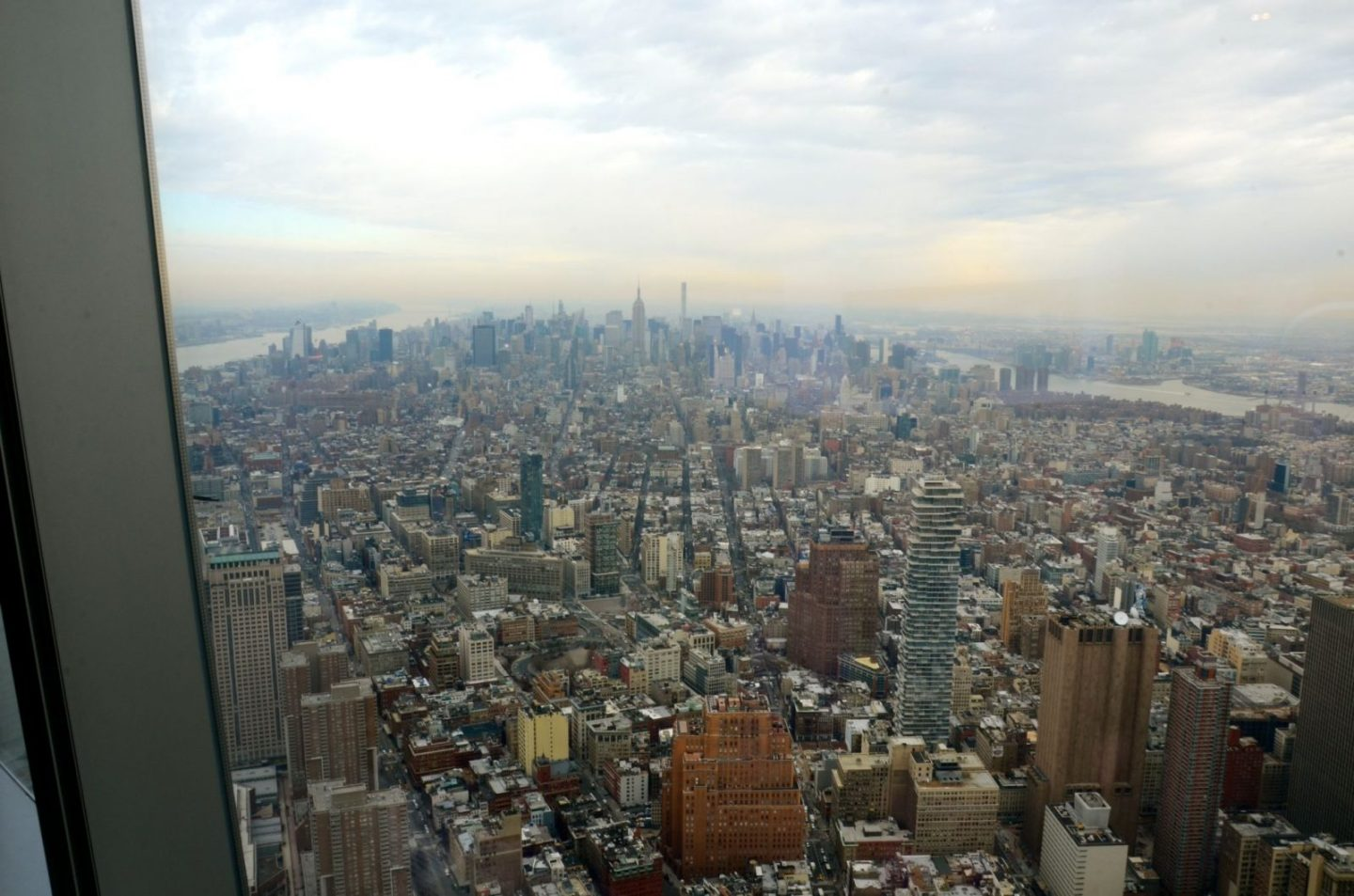 View from One World Observatory in New York.