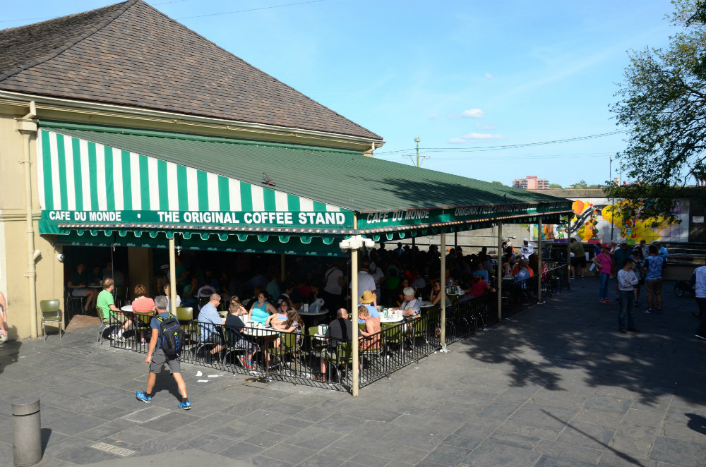 Cafe du Monde is a must do in New Orleans with kids