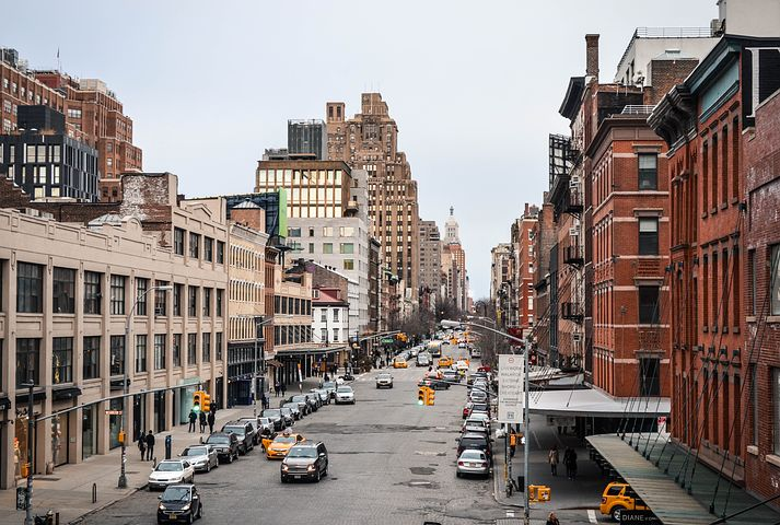 Meatpacking district in New York City
