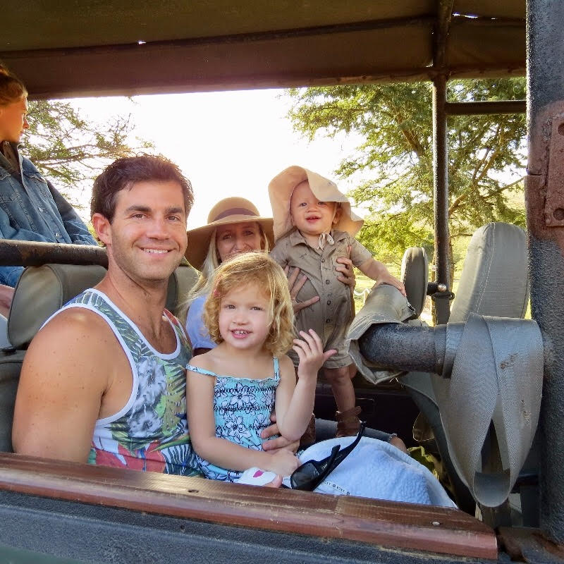 Going on safari on family vacation in South Africa.