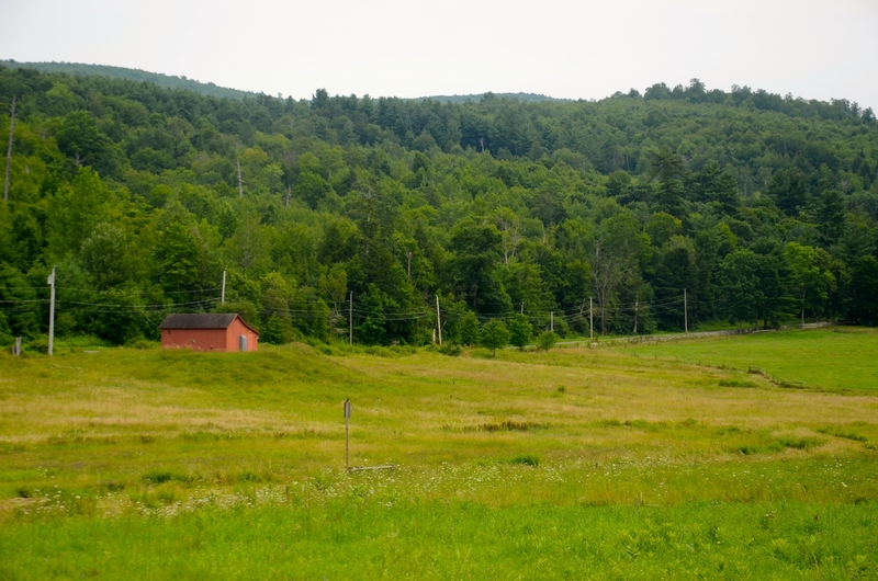 Countryside in Litchfield County, Connecticut