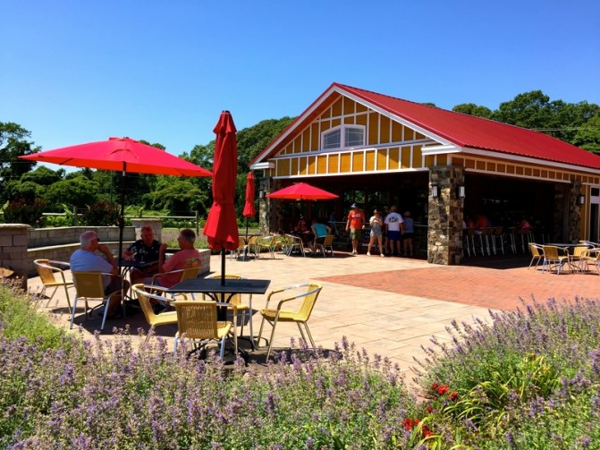 Willow Creek Winery in Cape May, New Jersey