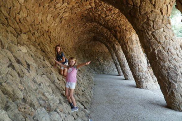 The Bets of Barcelona with kids at Park Guell