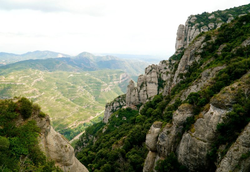 Barcelona day trip to beautiful Montserrat