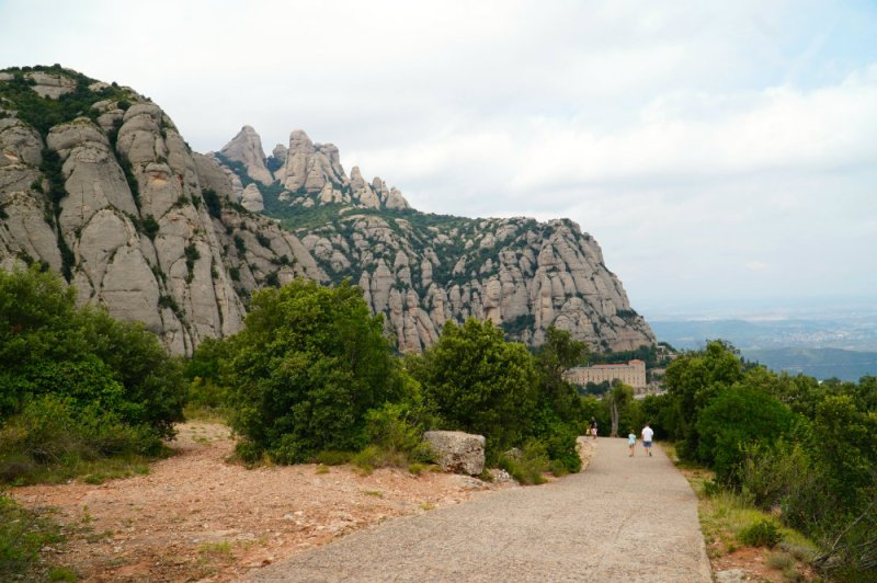 Day trip to breathtaking Montserrat outside of Barcelona with kids.