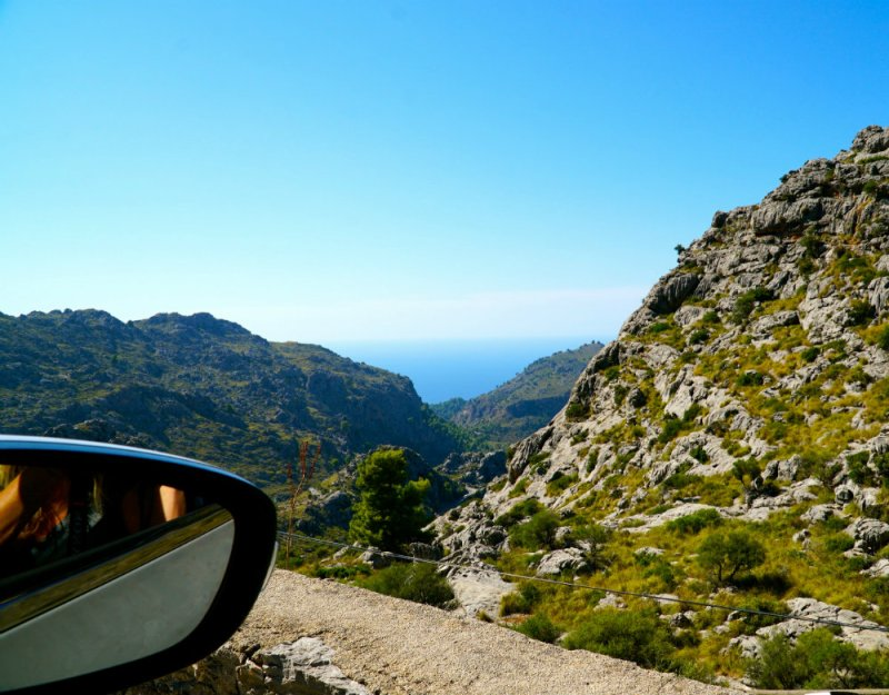 Driving in Mallorca