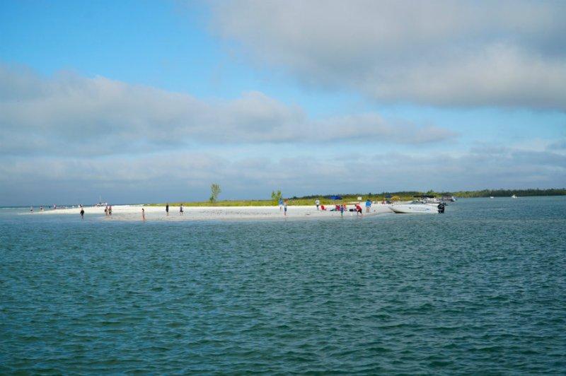 Approaching Keewaydin Island in Florida