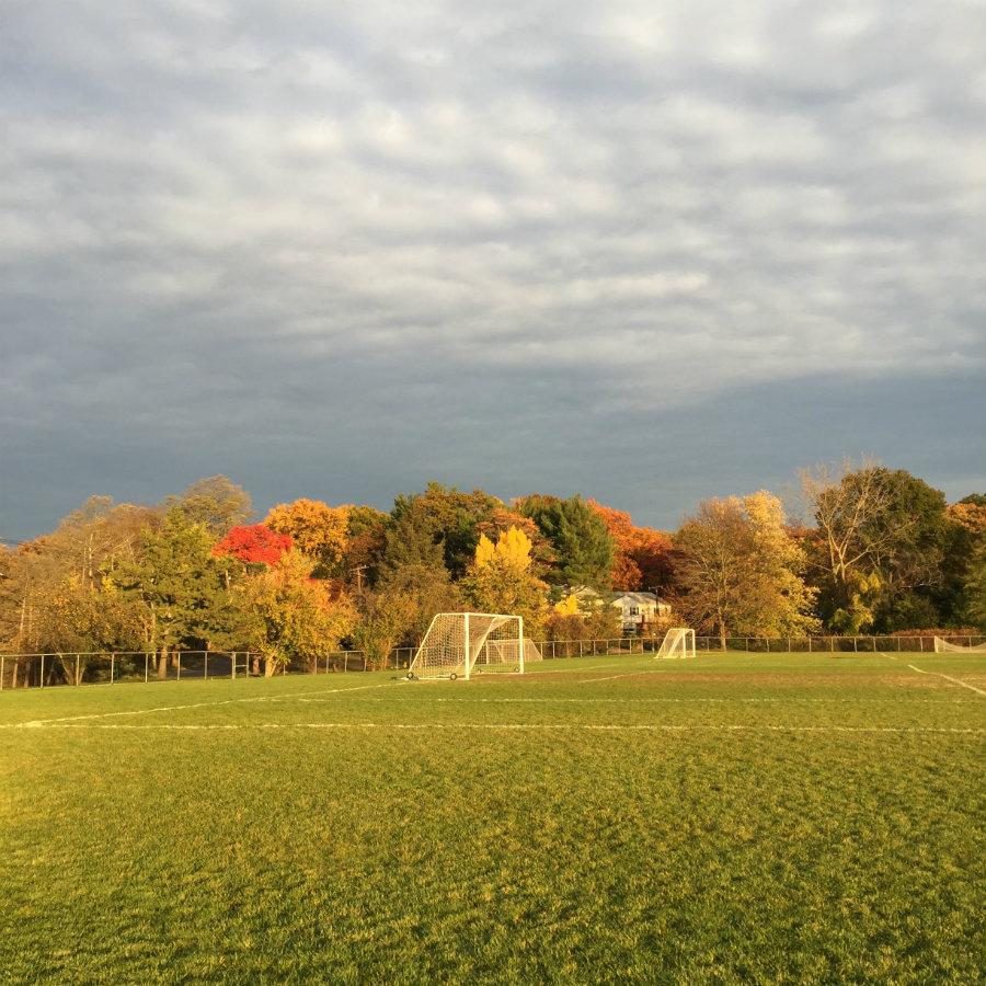 Fall at Flint Park in Larchmont, NY