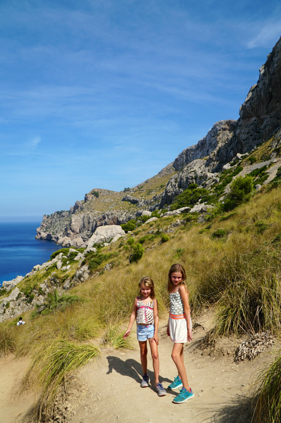New year refelction on 2017 family vacation to Mallorca.