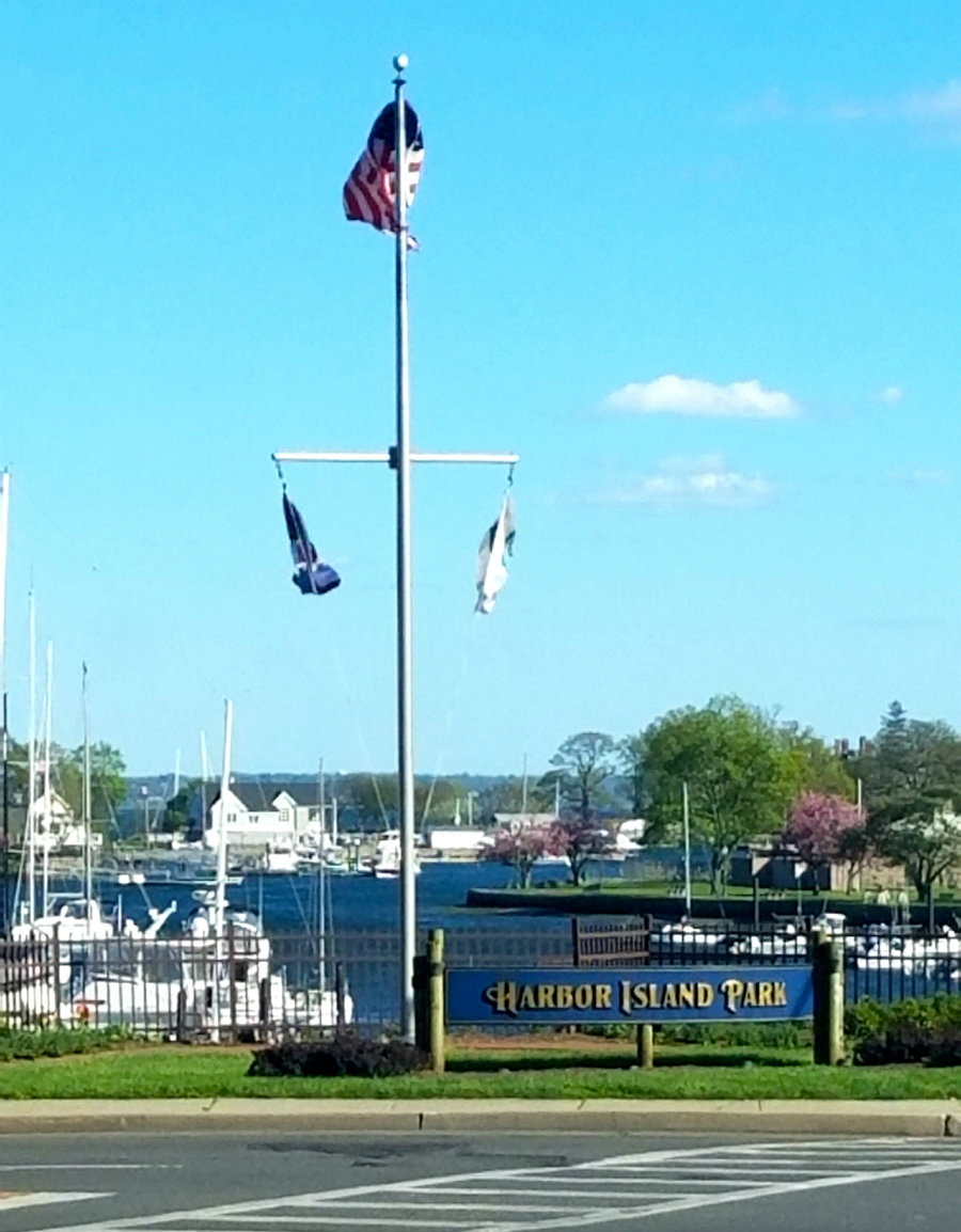 Spending the day at Harbor Island Park is ideal Mamaroneck living.