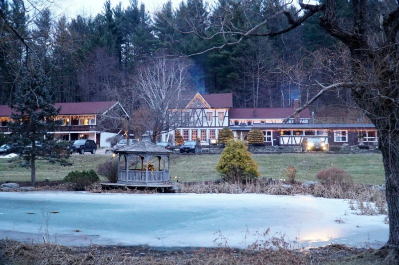 A weekend at the Swiss Hutte inn in the Berkshires
