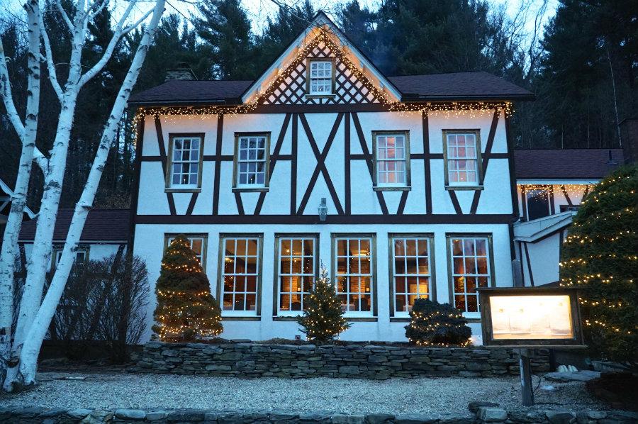 Swiss Hutte inn in the Berkshires