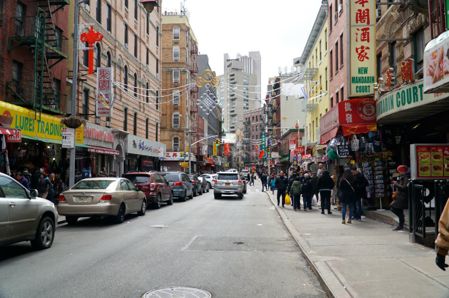Exploring Chinatown in NYC