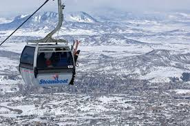 Taking the gondola in Steamboat Springs is one of the things to do besides skiing