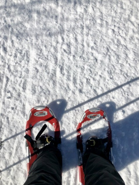 Snowshoeing in the Yampa Valley in Colorado