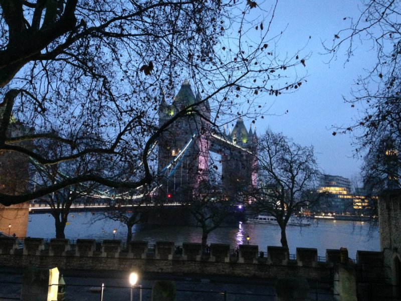 Tower Bridge on a London family vacation