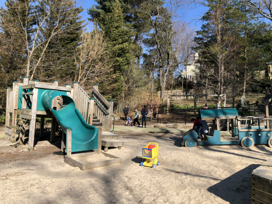Sagamore playground in Bronxville in Westchester, NY