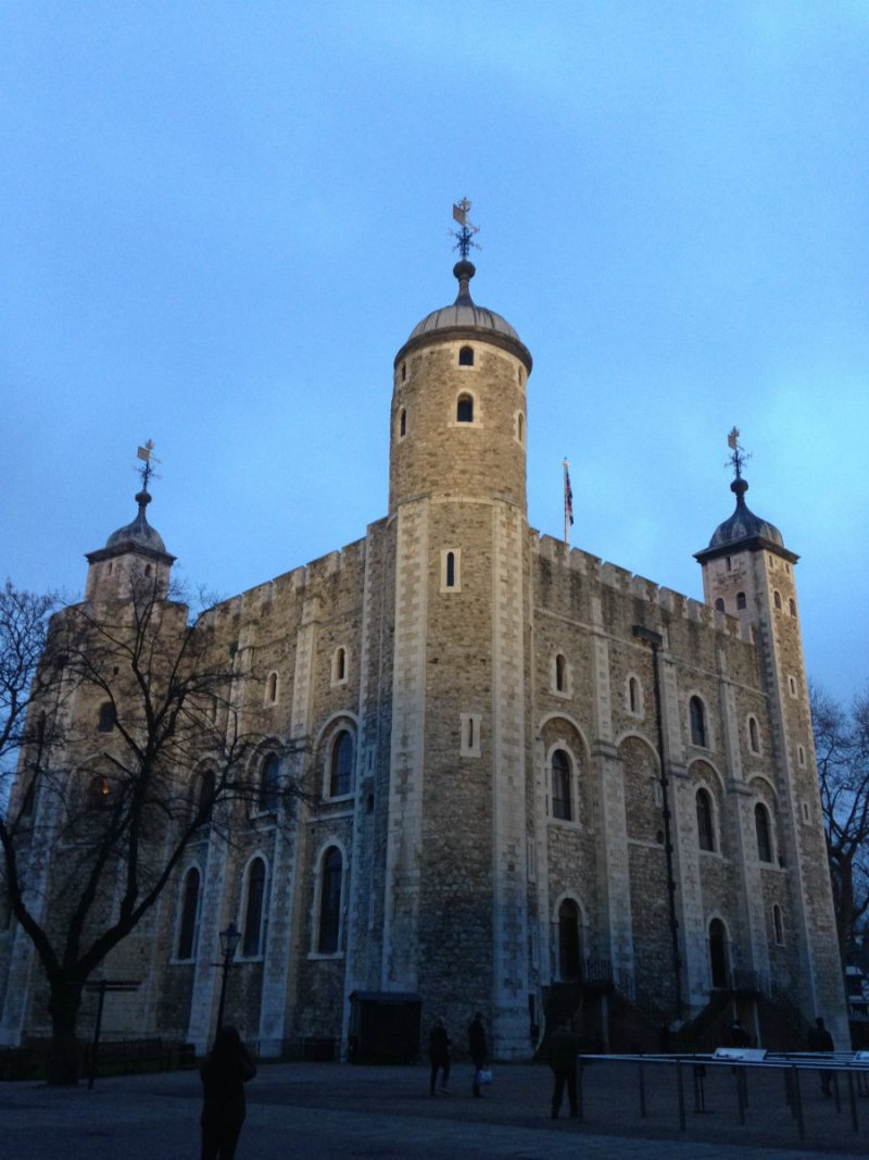 Sightseeing the Tower of London on a London family vacation