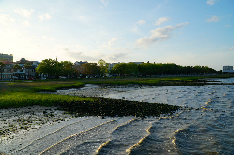 A Charleston Getaway must include a walk along the water!