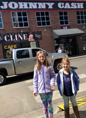 Johnny Cash Museum in Nashville with kids