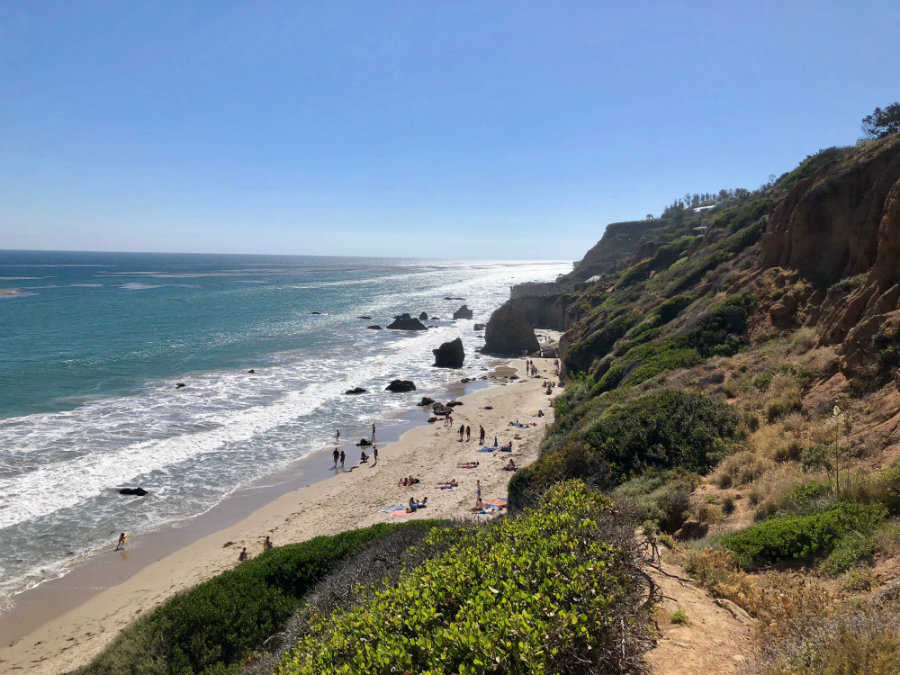 A day at Matador beach in Malibu