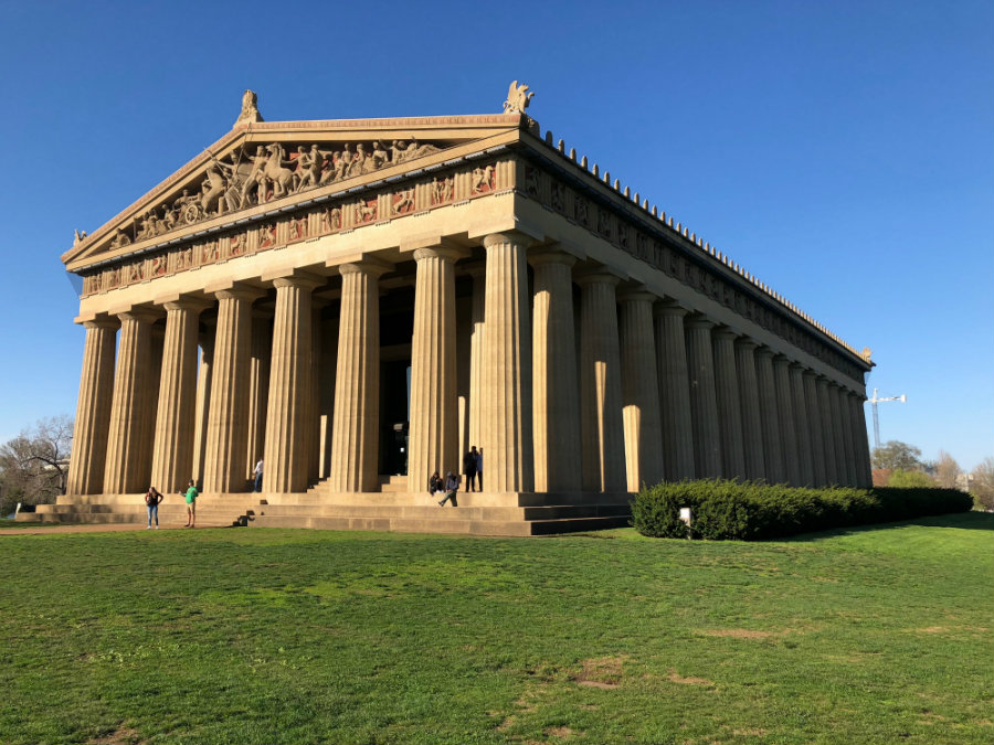 Things to do in Nashville with kids, Centennial Park and Parthenon