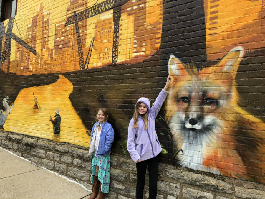 Things to do with kids in Nashville, street art, Mobe Oner
