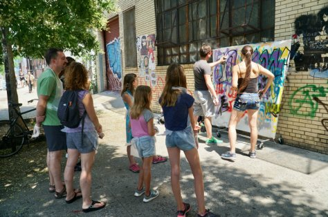 Brooklyn graffiti workshop