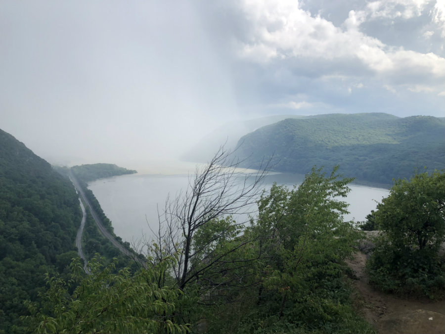Summit of Breakneck Ridge trail in Cold Spring