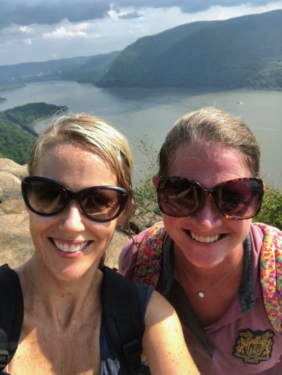 Made it to the top of Breakneck Ridge in Cold Spring