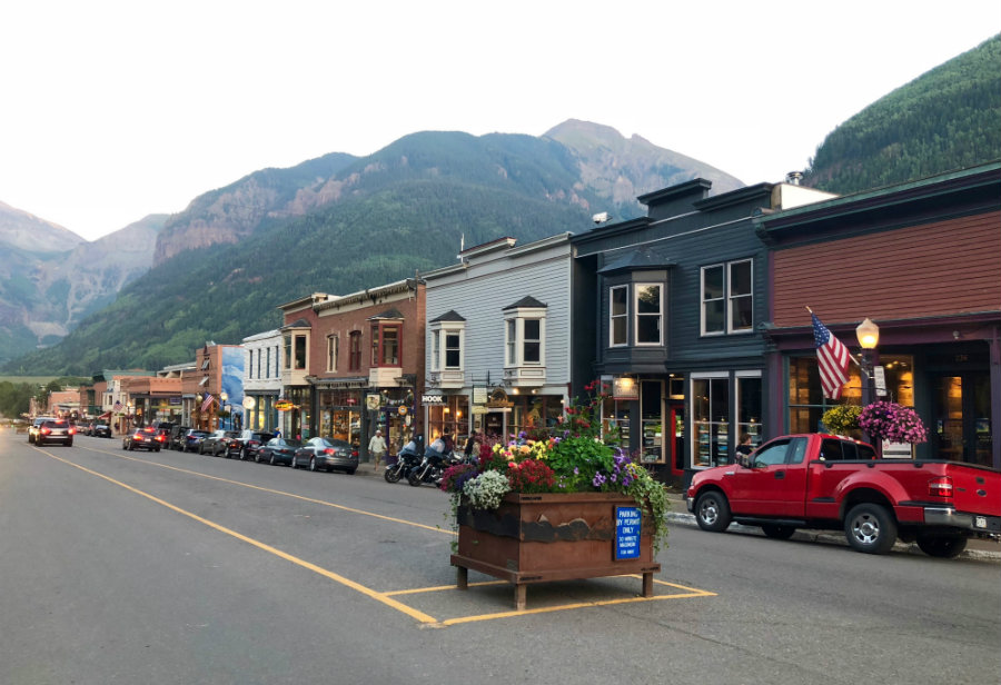Downtown Telluride CO