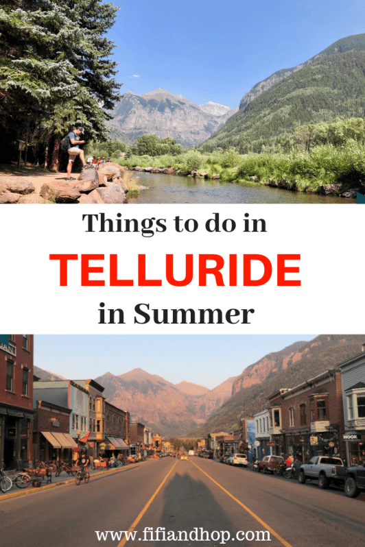 Things to do in Telluride in summer
