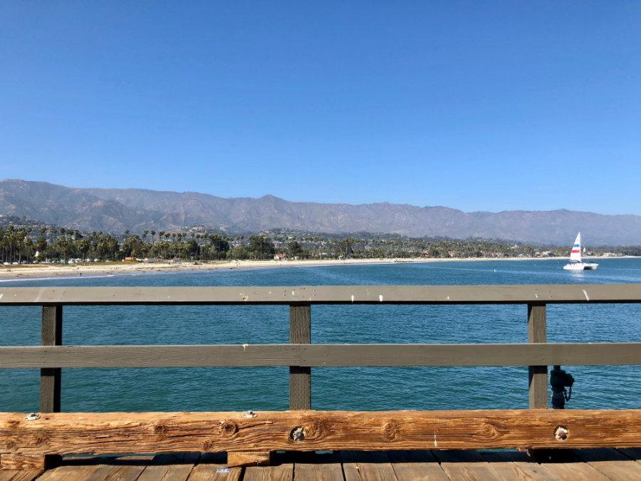 Visiting Stern Wharf in Santa Barbara, CA