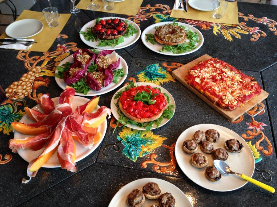 Tuscany food, travel writer