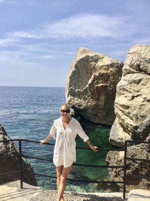 travel writer in Deia, Mallorca, Spain