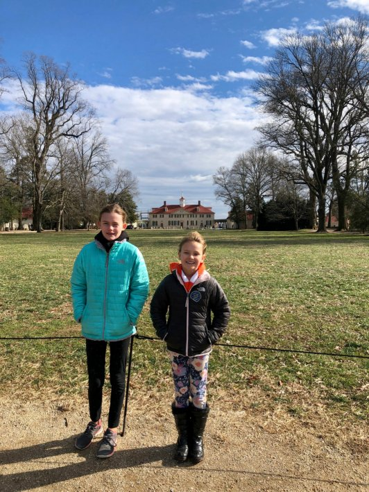 Walking around George Washington's estate at Mount Vernon during the government shutdown