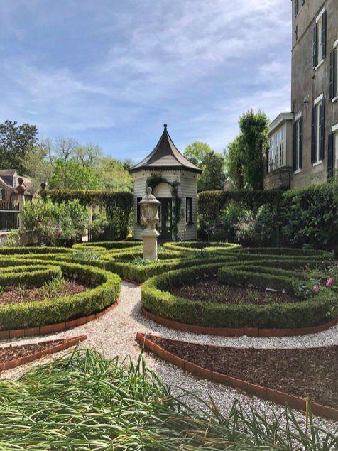 Charleston architecture, landscape design