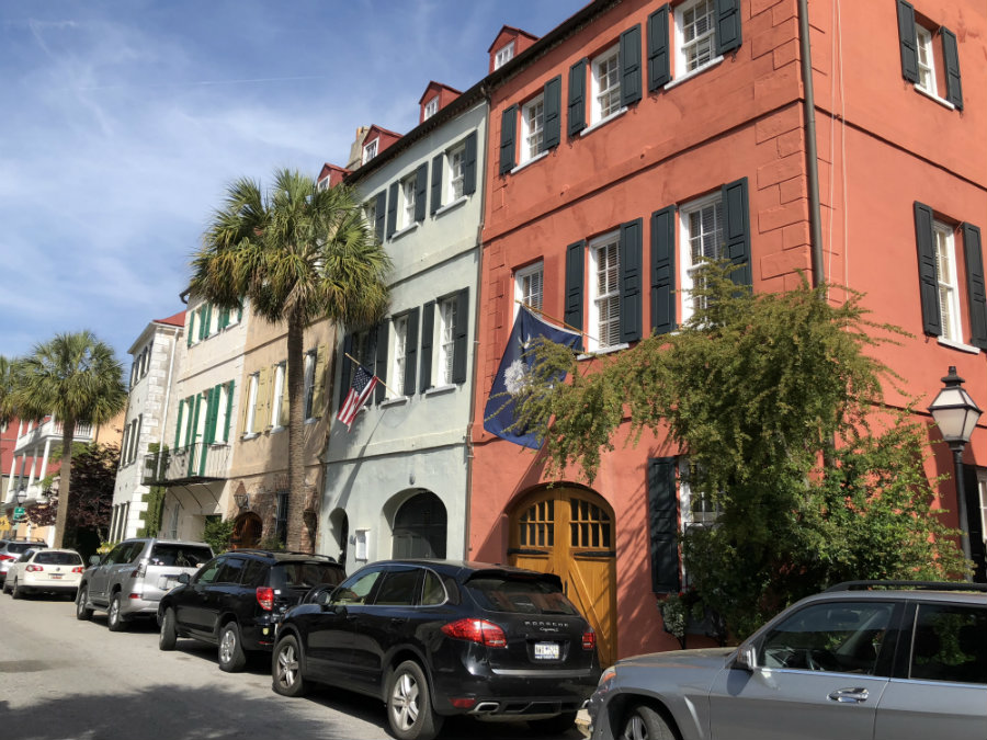 Charleston architecture, row houses