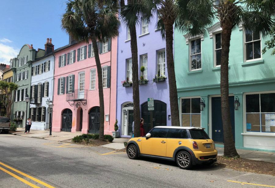Charleston architecture, Rainbow Row