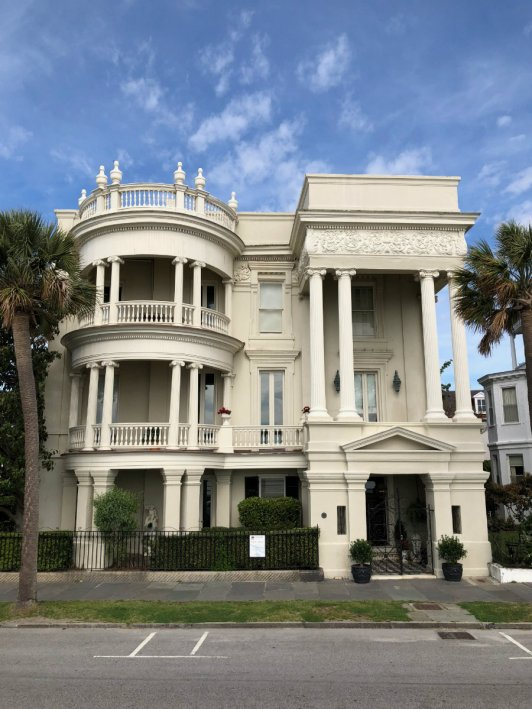 Charleston architecture, Battery