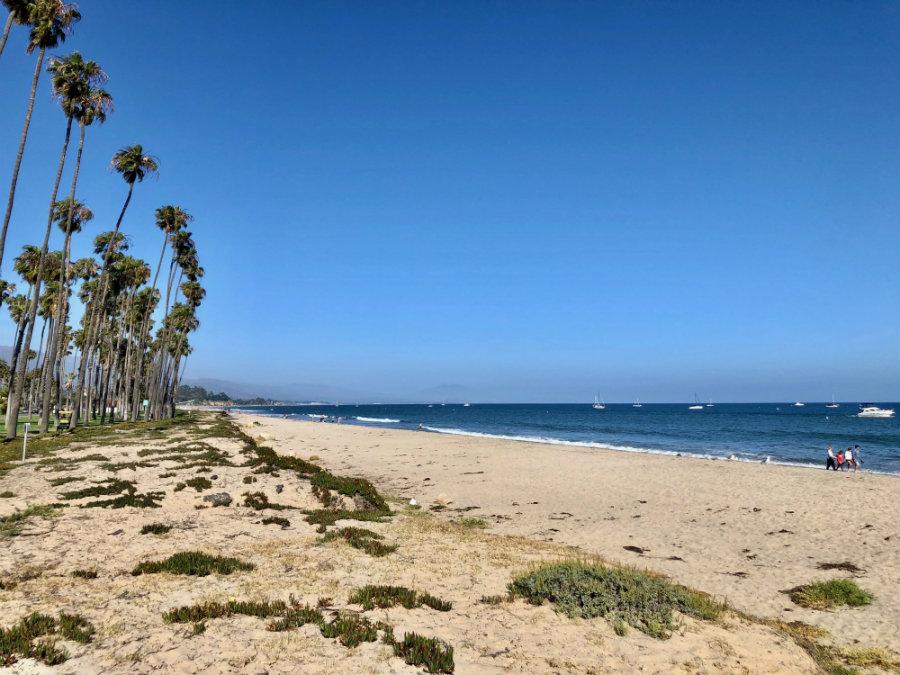 Santa Barbara beach walk