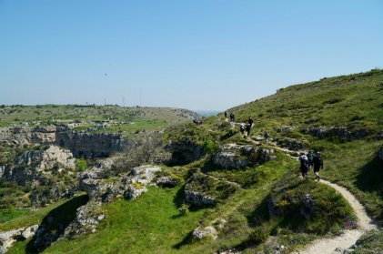 Exploring Murgia National Park Park in Matera Italy