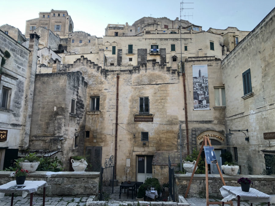 The restaurants of Matera Italy