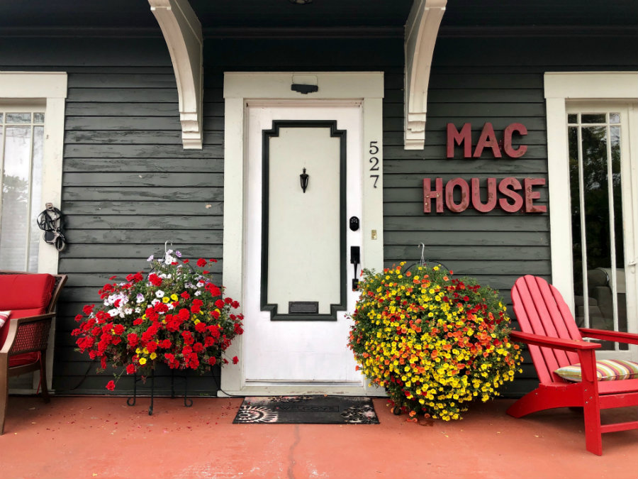 The MAC House in McMinnville in Oregon wine country