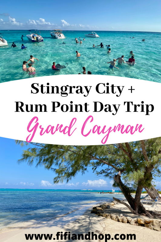 Stingray City and Rum Point day trip in Grand Cayman