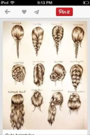 cute hairstyles girly