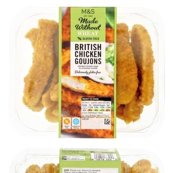 Marks & Spencer….. Made Without Wheat… MMMMM