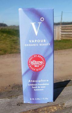 New Make-Up Overhaul – Vapour Organic Beauty Atmosphere Luminous Foundation