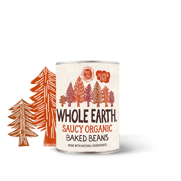 Whole Earth Saucy Organic Baked Beans